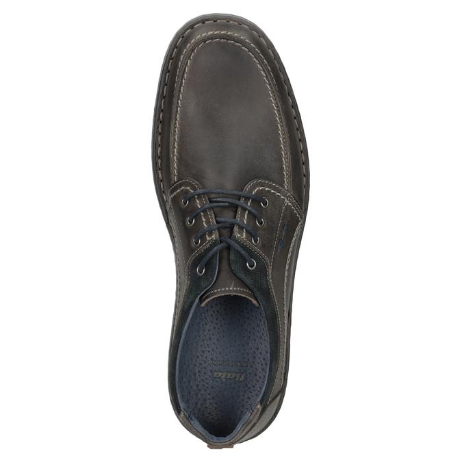 Kožené pánské ležérní polobotky bata, 826-2654 - 17