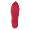 Červené lakované baleríny bata, červená, 521-0602 - 17