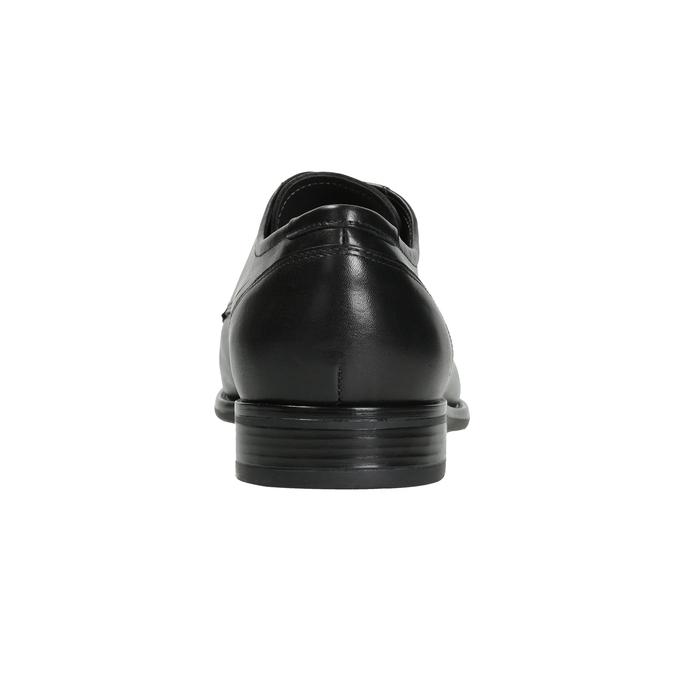 Kožené pánské Derby polobotky bata, černá, 824-6995 - 16
