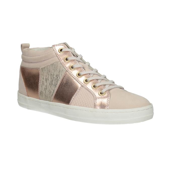 Dámské kotníčkové tenisky bata, růžová, 546-5608 - 13