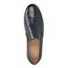 Kožené pánské Slip-on bata, modrá, 836-9601 - 15