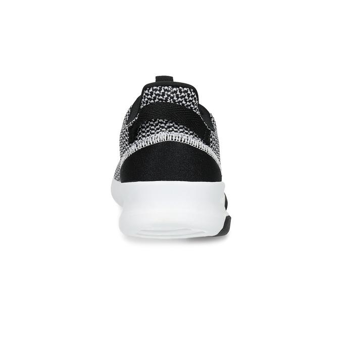 Černo-bílé tenisky s tkaným vzorem adidas, černá, 809-1101 - 15