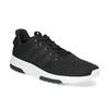 Černé pánské tenisky ve sportovním designu adidas, černá, 809-6101 - 13