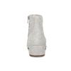 Kotníčkové kozačky z broušené kůže vagabond, šedá, 613-8040 - 15