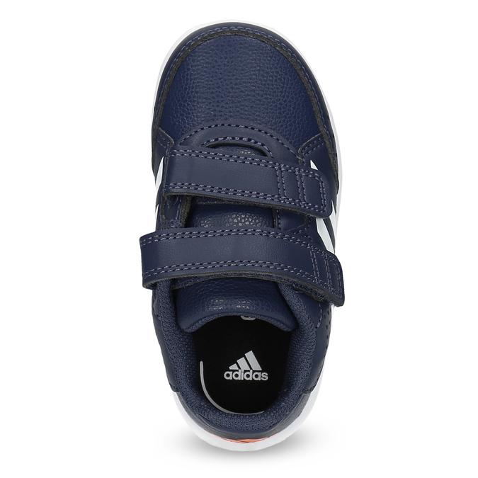 Modré tenisky na suché zipy adidas, modrá, 101-9151 - 17