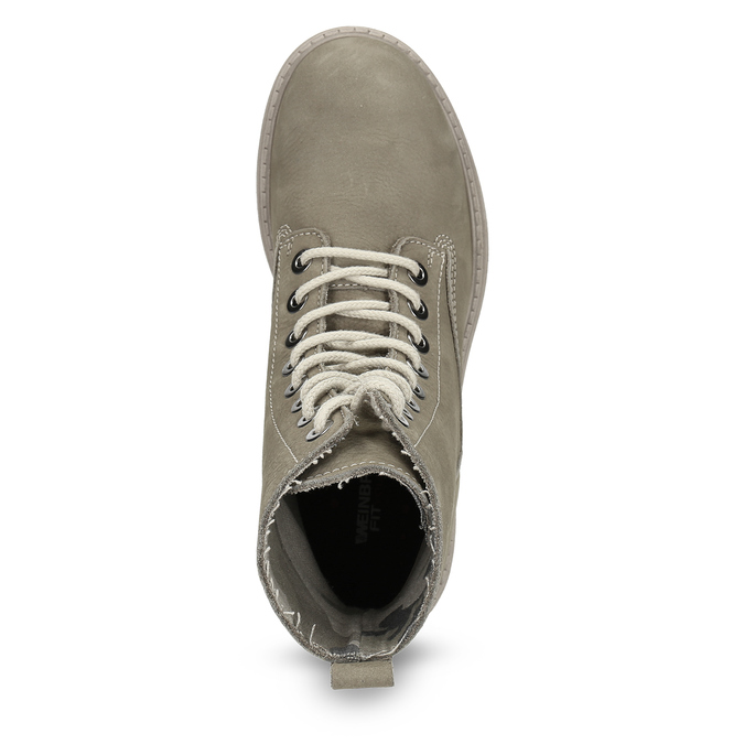 Dámská kotníčková obuv weinbrenner, béžová, 596-8693 - 17