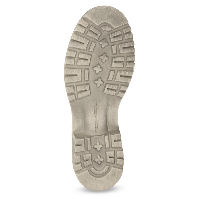 Dámská kotníčková obuv weinbrenner, béžová, 596-8693 - 18