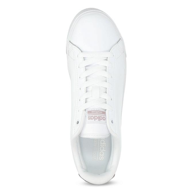Bílé dámské tenisky adidas, bílá, 501-1554 - 17