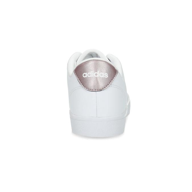 Bílé dámské tenisky adidas, bílá, 501-1554 - 15