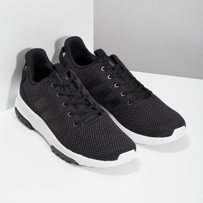 Černé pánské tenisky ve sportovním designu adidas, černá, 809-6101 - 26