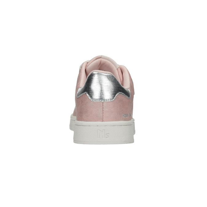 Růžové dámské ležérní tenisky north-star, růžová, 549-5604 - 15