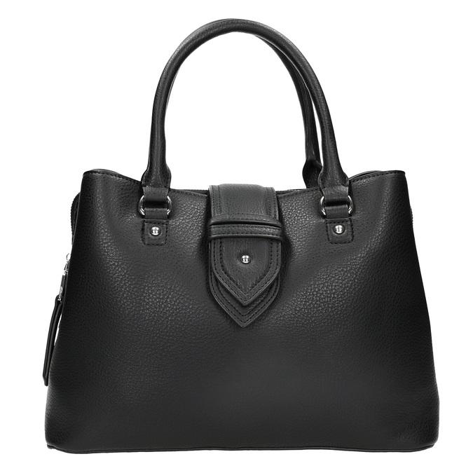 Černá kabelka s odnímatelným popruhem bata, černá, 961-6216 - 26