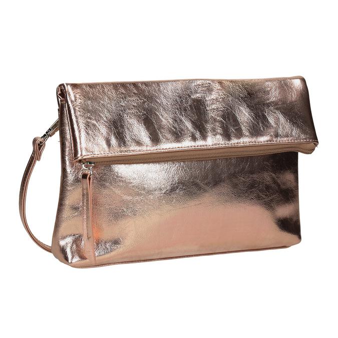 Zlatá Crossbody kabelka bata, zlatá, 961-9852 - 13