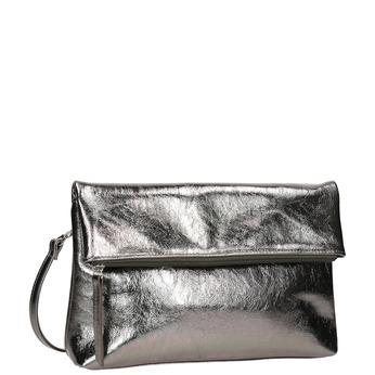 Stříbrná dámská Crossbody kabelka bata, stříbrná, 961-1852 - 13