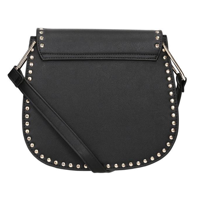 Černá Crossbody kabelka se cvoky bata, černá, 961-6844 - 16