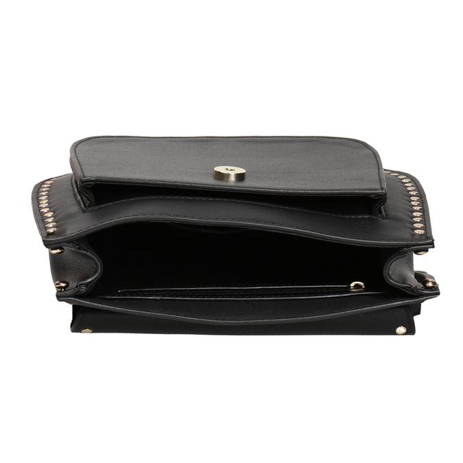 Černá Crossbody kabelka se cvoky bata, černá, 961-6844 - 15