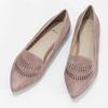 Dámská kožená Loafers obuv bata, 523-5659 - 16
