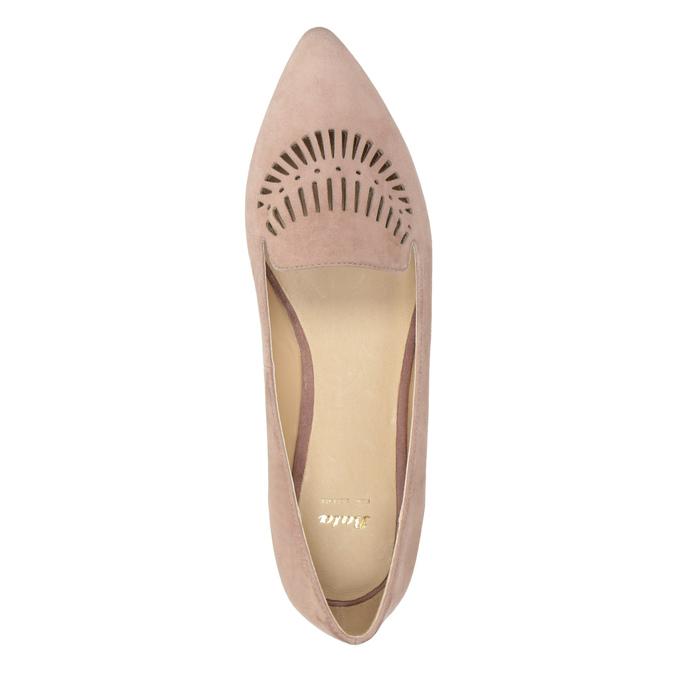 Dámská kožená Loafers obuv bata, 523-5659 - 17
