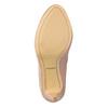 Kožené lodičky s perforací insolia, 726-5654 - 19