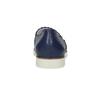 Kožené Slip-on na pružné podešvi flexible, modrá, 536-9602 - 15