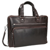 Pánská kožená taška na dokumenty bata, hnědá, 964-4287 - 13