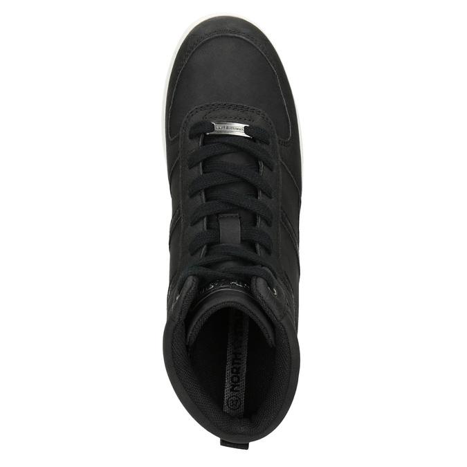 Kotníčkové dámské tenisky north-star, černá, 641-6600 - 17