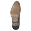 Pánské kožené polobotky se zdobením bata, hnědá, 826-4927 - 18