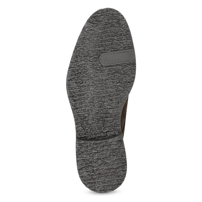 Kožená obuv ve stylu Chukka Boots bata, hnědá, 823-4627 - 18