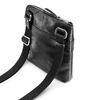 Černá kožená Crossbody taška bata, černá, 964-6288 - 17