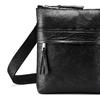 Černá kožená Crossbody taška bata, černá, 964-6288 - 15