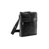 Černá kožená Crossbody taška bata, černá, 964-6288 - 13