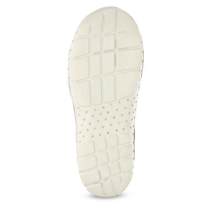 Kožené dámské sandály v Outdoor stylu weinbrenner, bílá, 566-1608 - 18