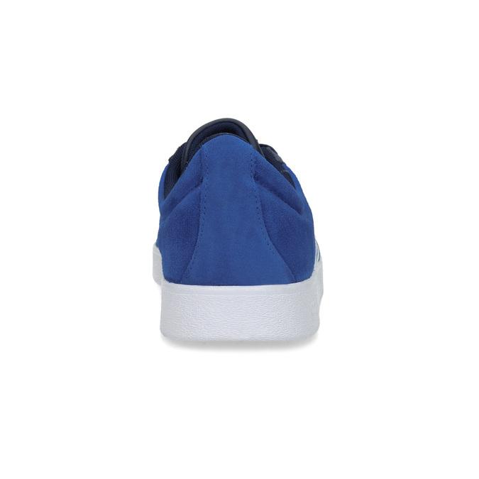 Modré tenisky z broušené kůže adidas, modrá, 803-9979 - 15