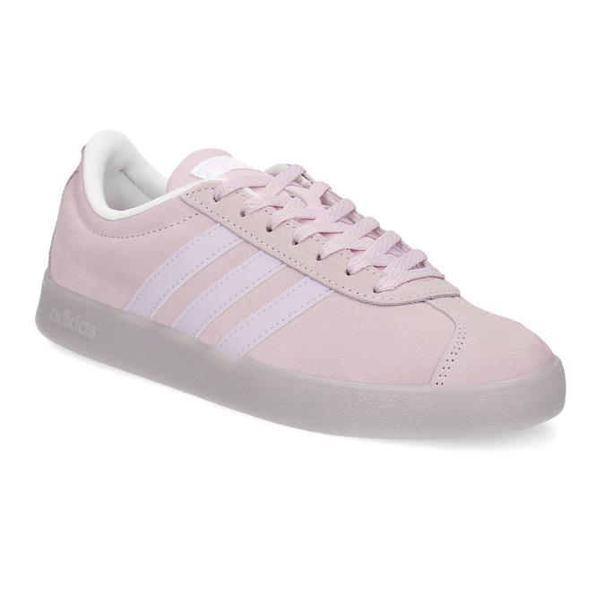 Růžové tenisky z broušené kůže adidas, růžová, 503-5579 - 13
