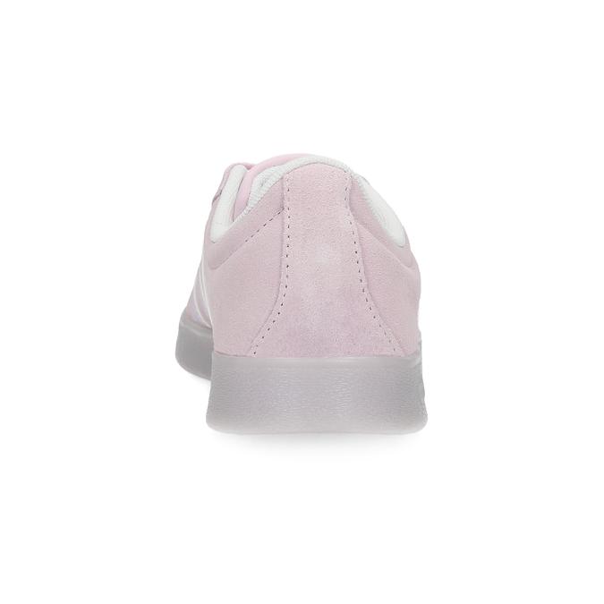 Růžové tenisky z broušené kůže adidas, růžová, 503-5579 - 15