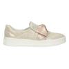 Kožená Slip-on obuv s mašlí bata, růžová, 536-5600 - 26