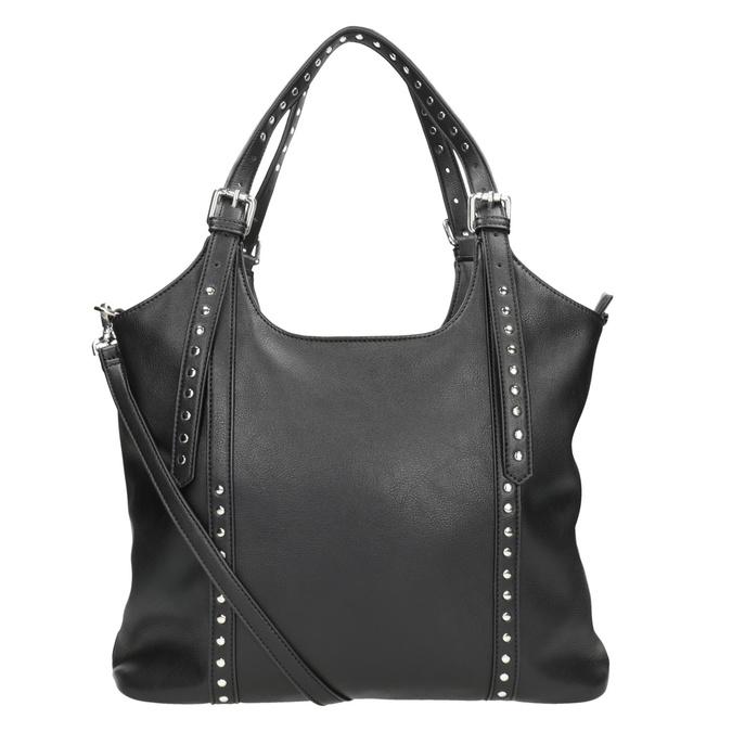 Černá kabelka s odnímatelným popruhem bata, černá, 961-6835 - 16