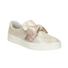 Kožená Slip-on obuv s mašlí bata, růžová, 536-5600 - 13