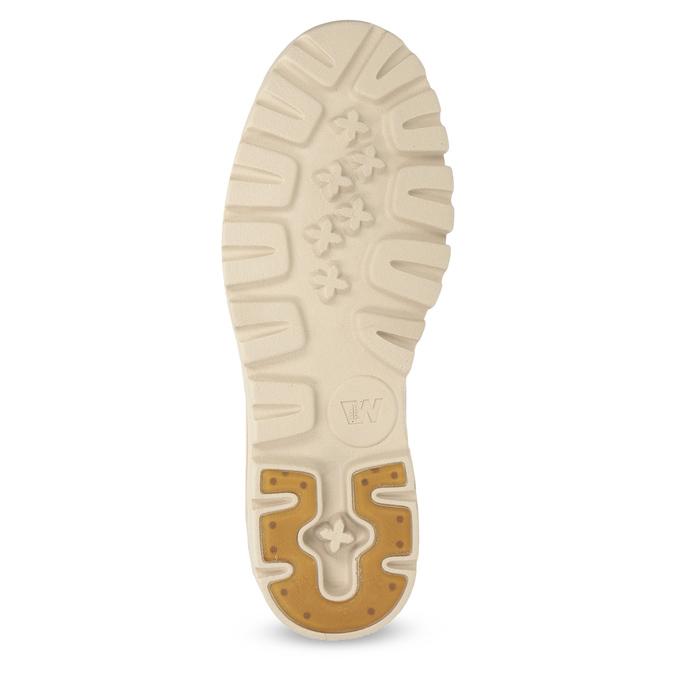 Kožená růžová kotníčková obuv weinbrenner, 594-5666 - 18