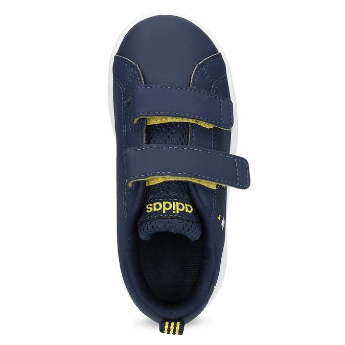 Dětské modré tenisky na suché zipy adidas, modrá, 101-9129 - 17