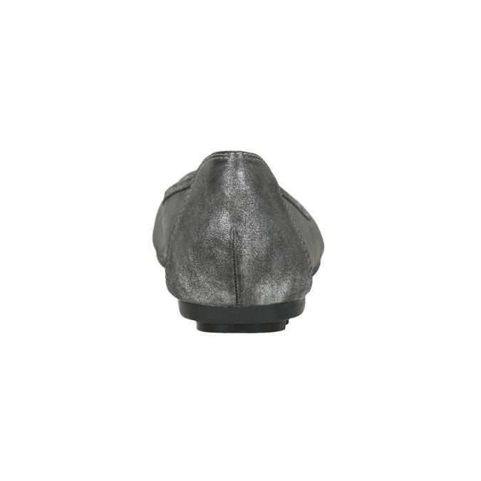 Stříbrné dámské baleríny bata, 529-1640 - 16