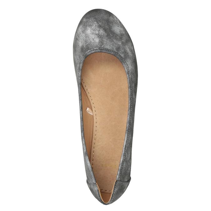 Stříbrné dámské baleríny bata, 529-1640 - 15