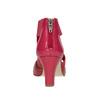 Růžové kožené lodičky insolia, červená, 624-5643 - 16