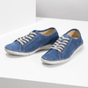Ležérní kožené polobotky weinbrenner, modrá, 546-9603 - 16