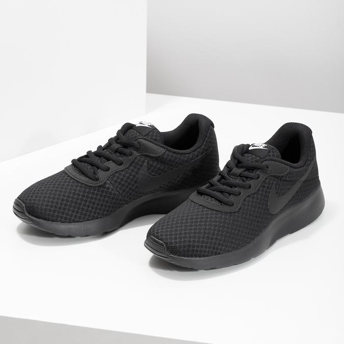 Černé dámské tenisky sportovního střihu nike, černá, 509-0157 - 16