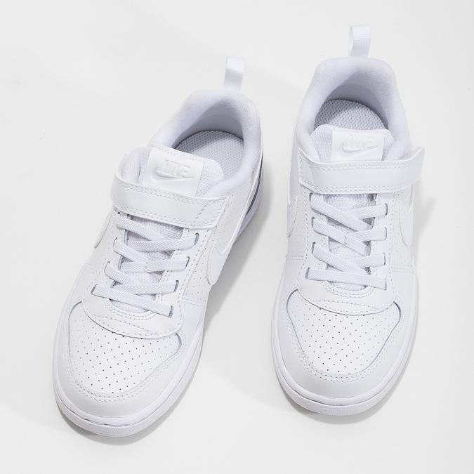 Dětské tenisky se suchým zipem na nártu nike, bílá, 301-1154 - 16