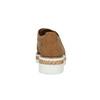Dámské polobotky s perforací a kamínky bata, hnědá, 529-3636 - 15