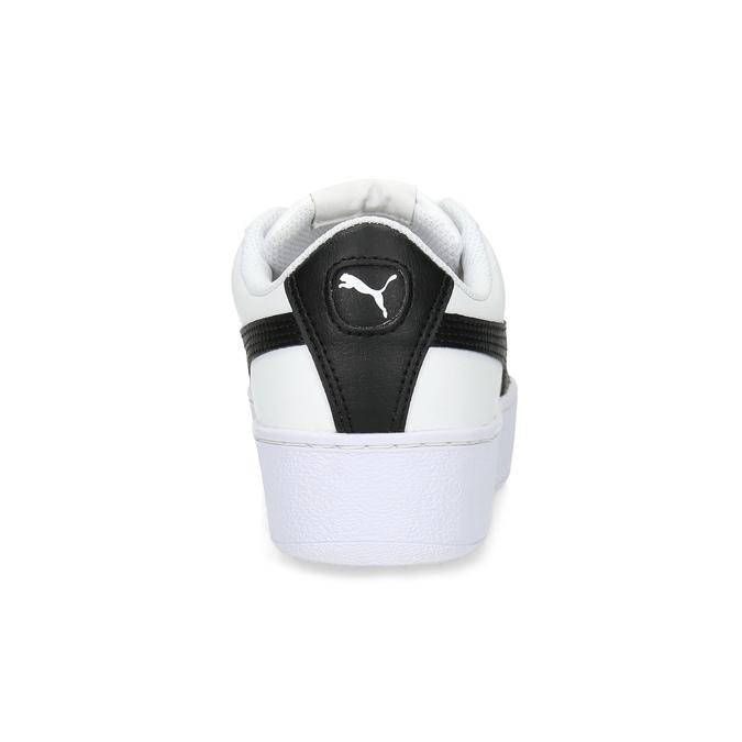 Bílé dámské tenisky na flatformě puma, bílá, 504-1704 - 15