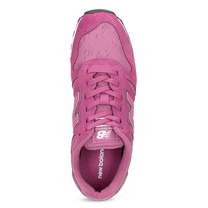 Dámské tenisky sportovního střihu růžové new-balance, růžová, 503-5874 - 17
