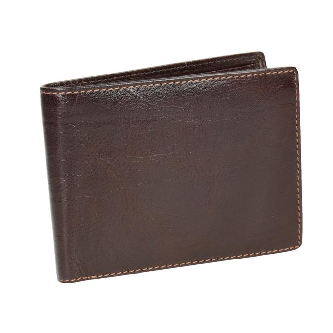 Pánská kožená peněženka bata, hnědá, 944-4191 - 13